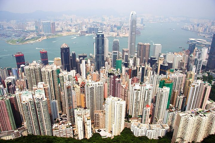 Hong Kong di giorno