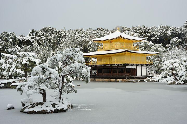 Kinkakuji in inverno