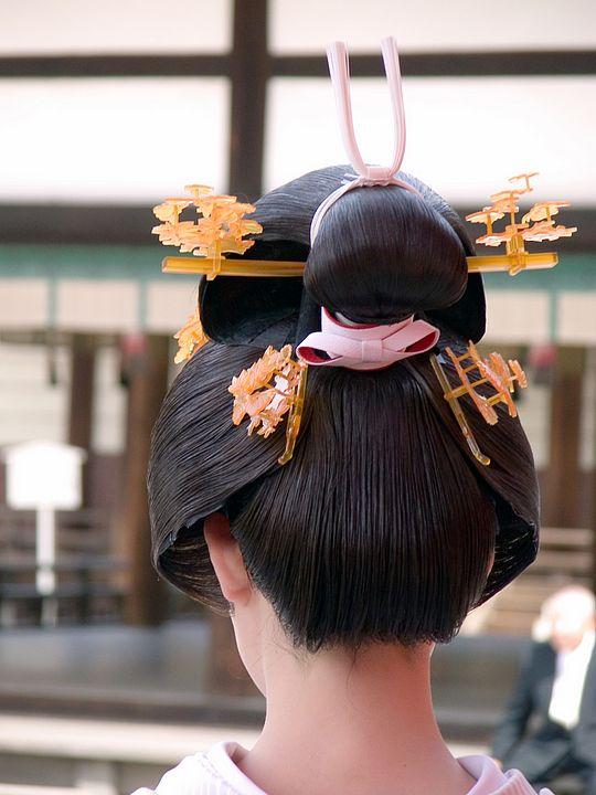 I capelli di una geisha