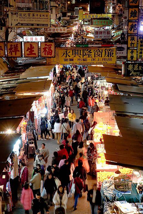 Mongkok market