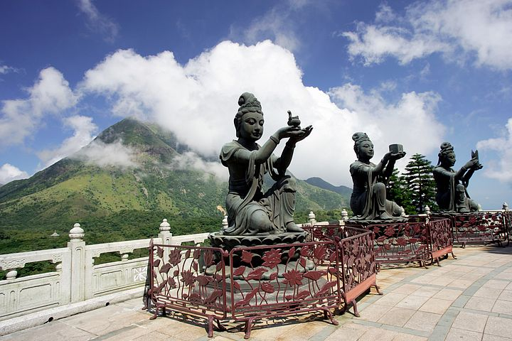 Monastero Po Lin a Lantau