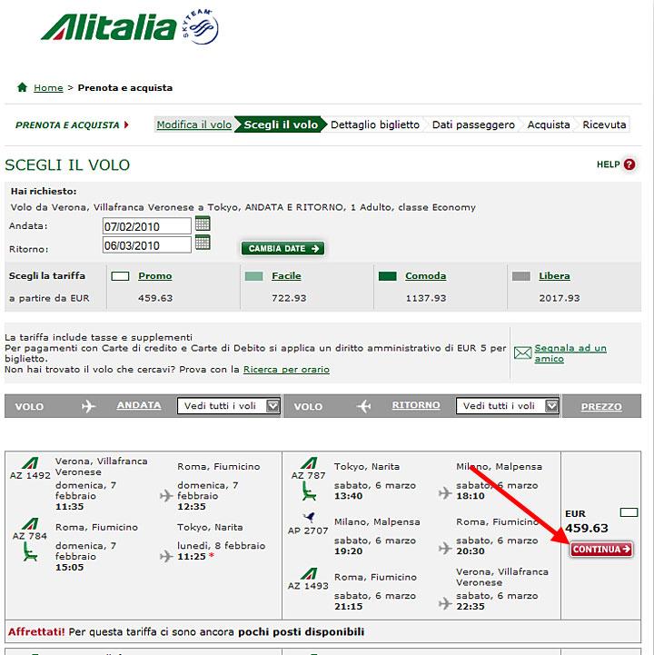 prenotazioni voli aerei on line