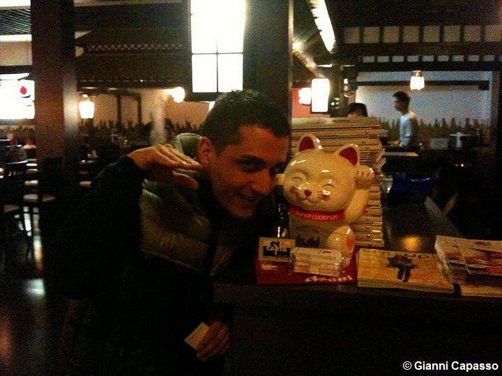 Gianni Capasso al Ristorante Shibuya di Parma