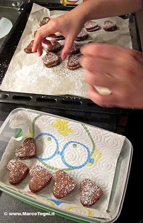 I biscotti fatti da Mihoko per San Valentino
