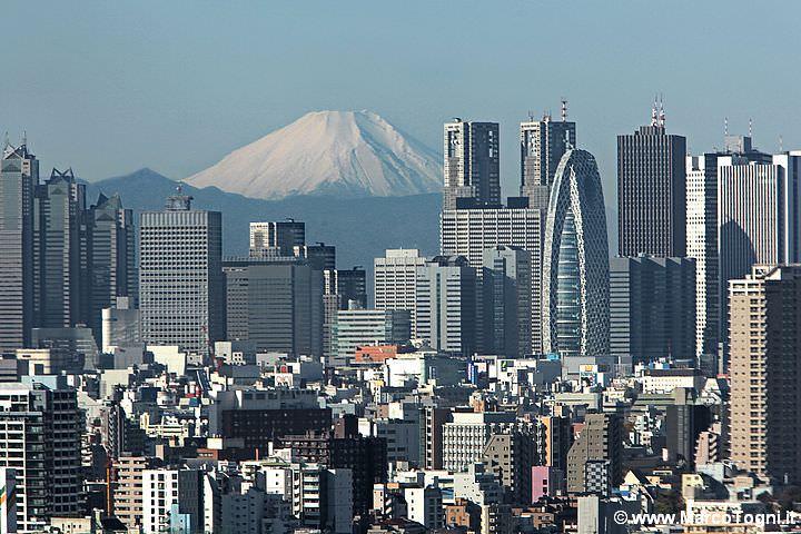 il Fuji da Tokyo