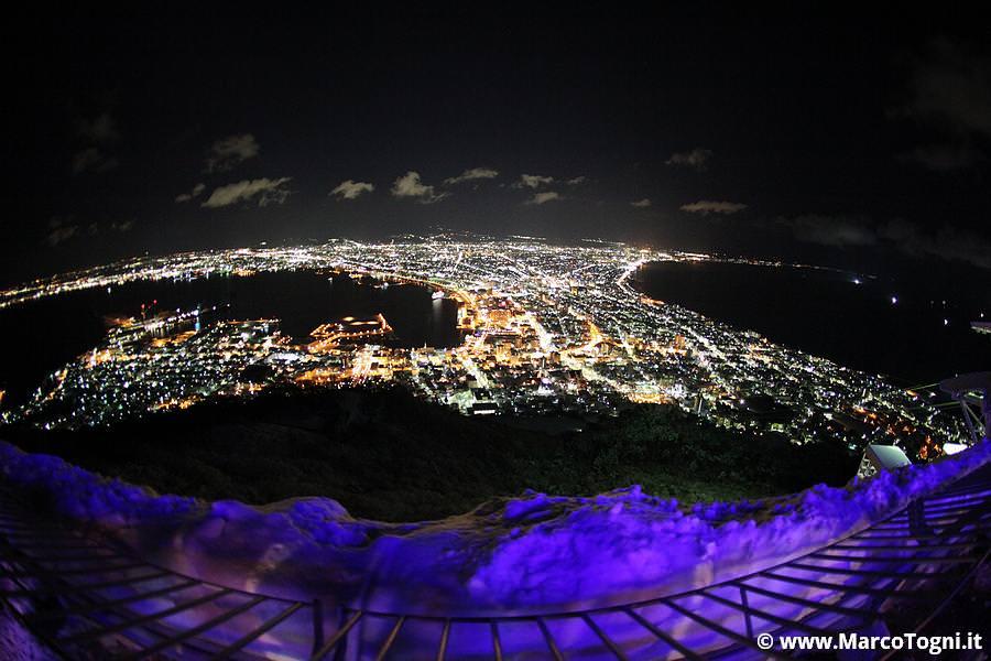 Vista di Hakodate