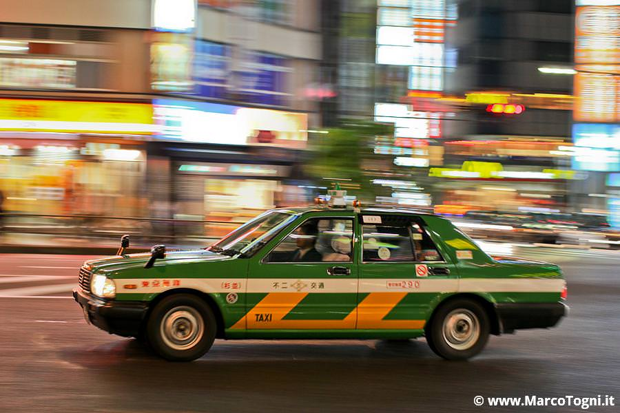 Taxi in Giappone