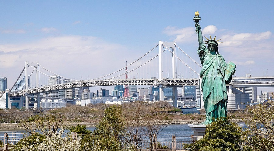 Statua della libertà di Odaiba