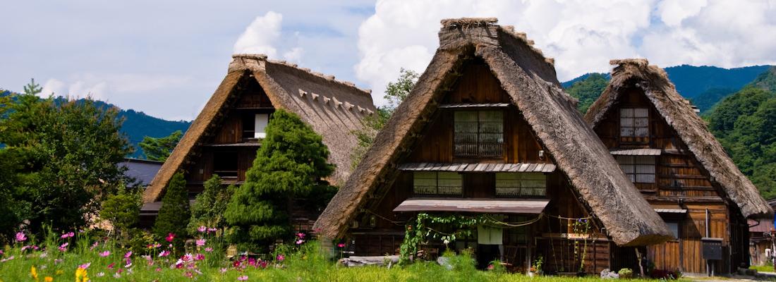 Risultati immagini per shirakawago
