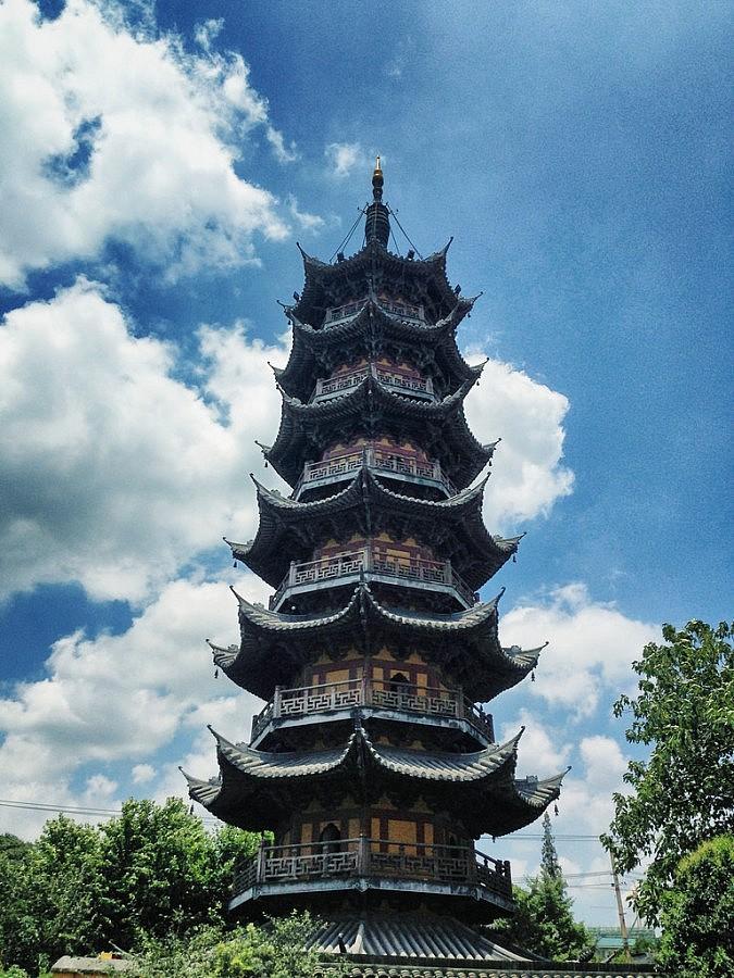 Tempio longhua for Piani di coperta a 2 piani