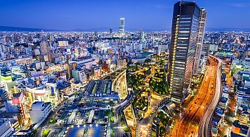 Namba District of Osaka, Japan
