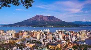 Kagoshima Japan Skyline