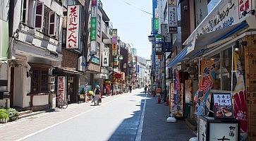 Kichijoji district in Tokyo,Japan