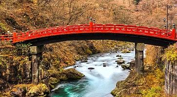 Nikko sacred Bridge, Japan.