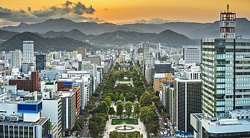Sapporo Cityscape