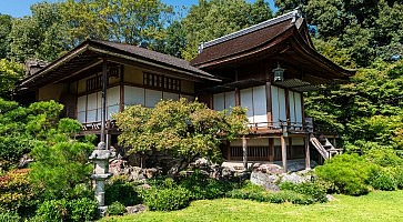 Okochi Sanso mountain villa in Kyoto