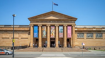 Sydney, Australia - January 8, 2019: art gallery of new south wales,  the most important public gallery in Sydney and one of the largest in Australia