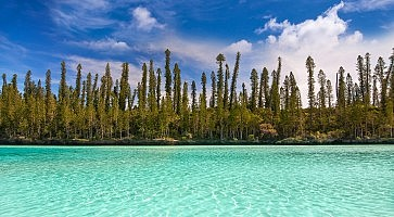 Natural pool of Oro Bay, Isle of Pines, New Caledonia