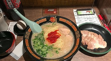 Tokyo, Japan - April 30, 2017: Ichiran Ramen is one of the most famous Japanese Noodle Franchise Restaurants in Japan