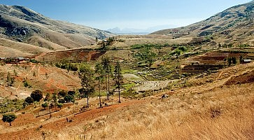 Panoramic view of Madagascar landscape