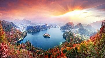 Morning on Lake Bled