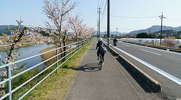 The Shimanami Kaido the most popular bicycle route in japan.