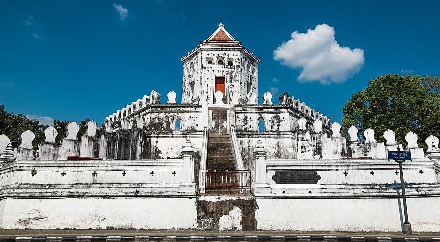 Phra sumen fort for Dormire a phuket